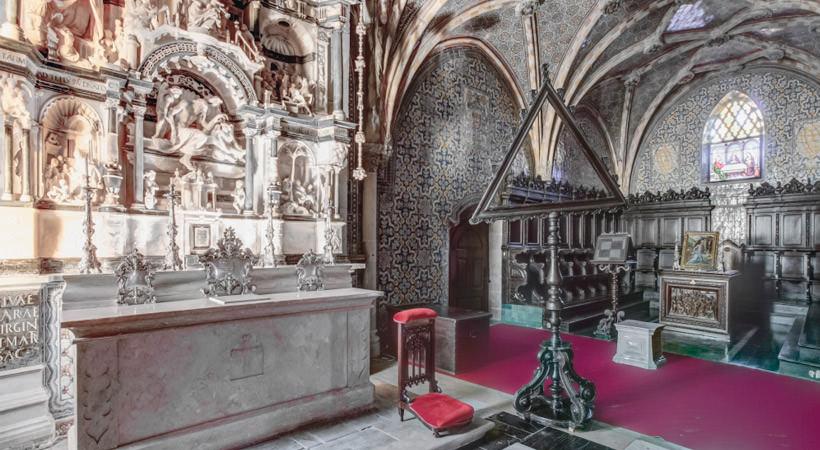 капелла в дворце Пена