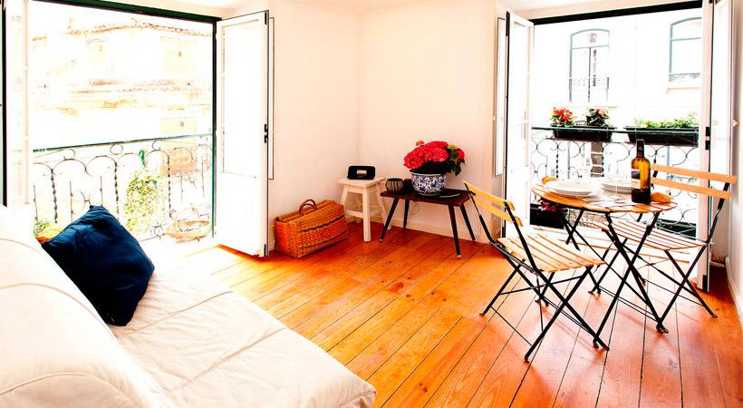 квартира в Лиссабоне на Airbnb