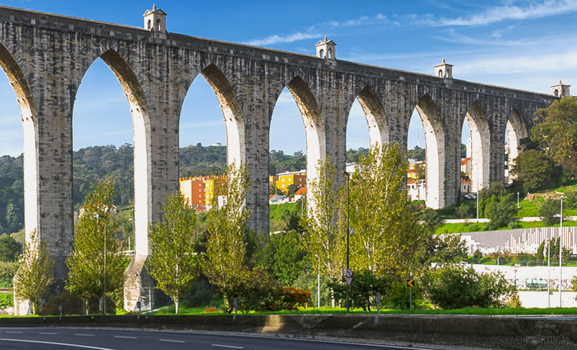 Акведук в Лиссабоне