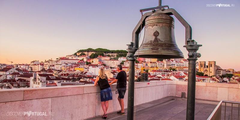 Новая смотровая площадка в Лиссабоне