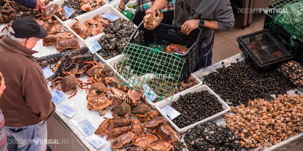 Морепродукты в Португалии