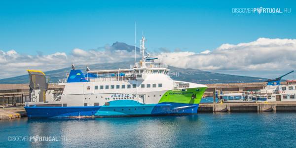 Паромы на Азорских островах