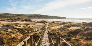 Пляж Аморейра