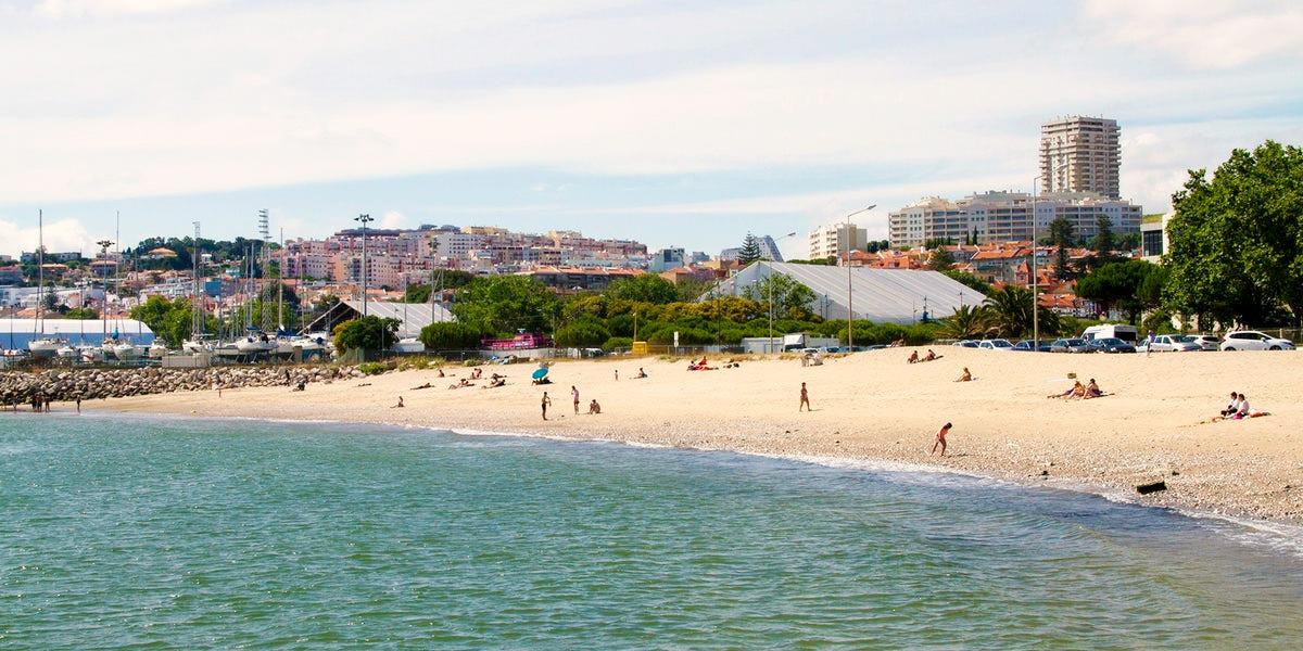 Пляж Алжеш