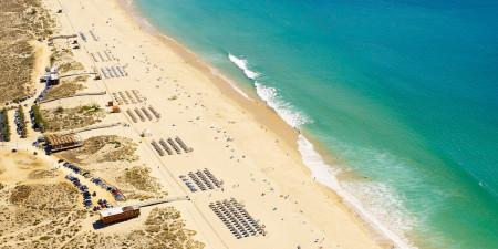 Пляж Алвора (западный)