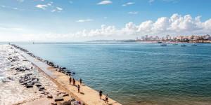 Пляж Моле (Волнореза)