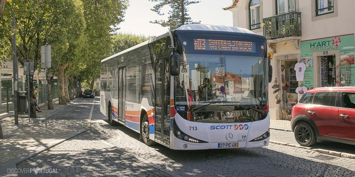 Автобусы Синтры и Кашкайша