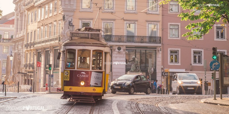28 трамвай в Лиссабоне