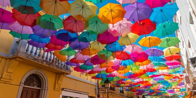 Яркое небо Португалии